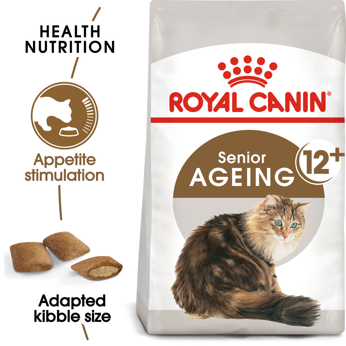 RC Feline Senior Ageing +12 Dry Adult Cat Food - 2kg