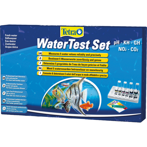 Tetra Test Set - pH, Kh, Gh, NO2, CO2