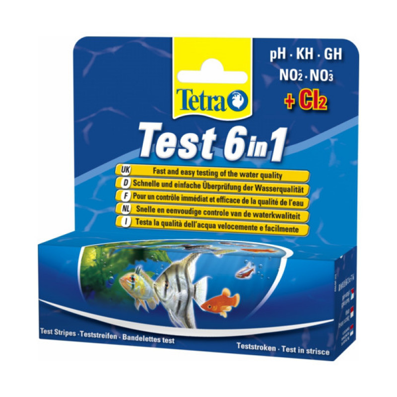 Tetra Test 6 in 1 - UPPSELT!