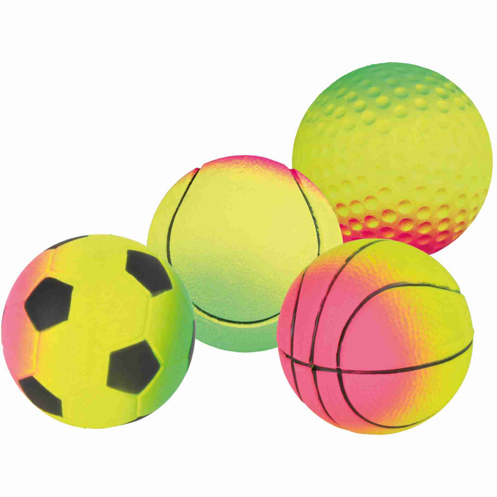 Assortment Toy Neon Balls 7cm - x15