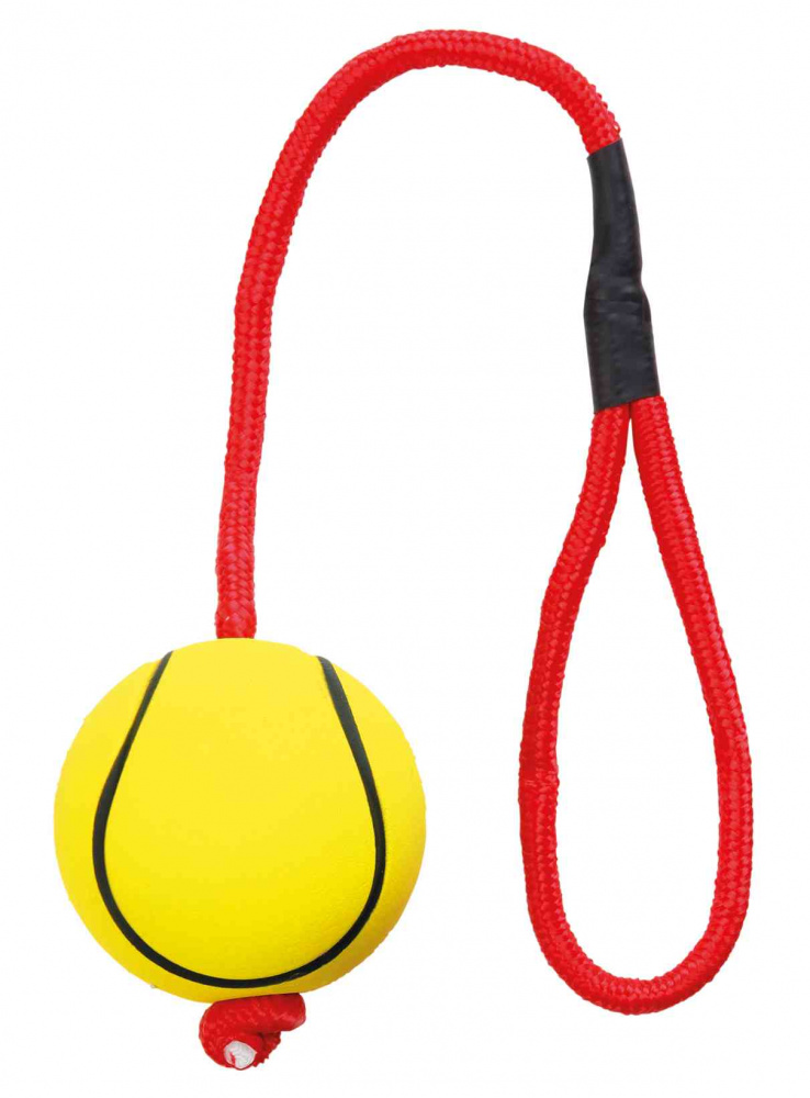 Assortment Sport Balls on Rope 6cm - x24