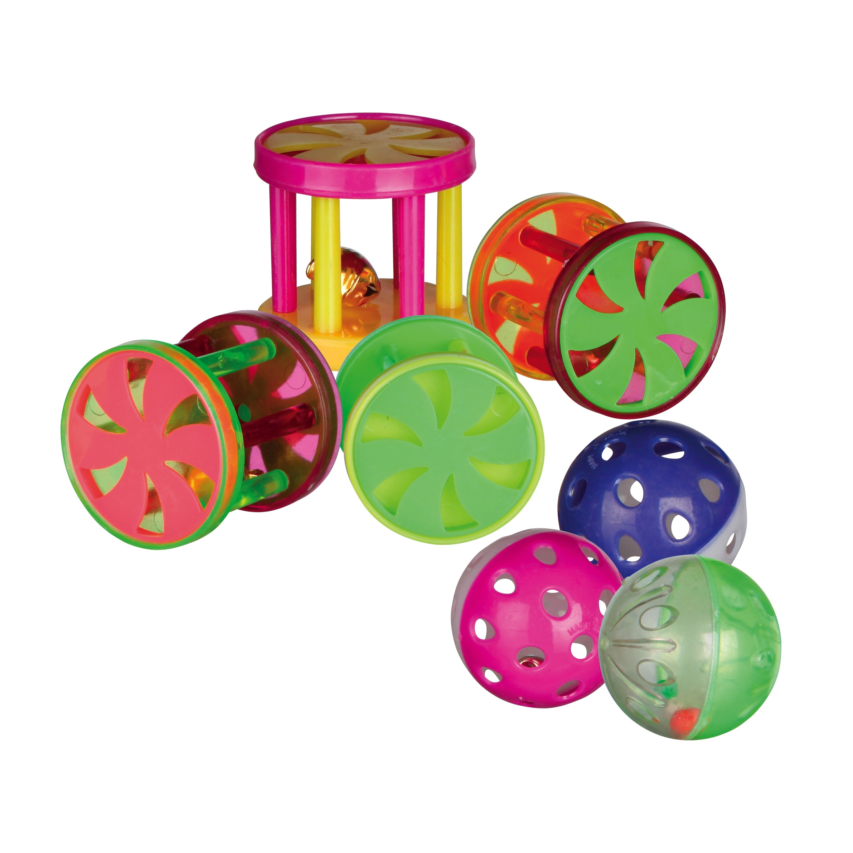 Assortment Balls & Rolls 4,5cm - 60x