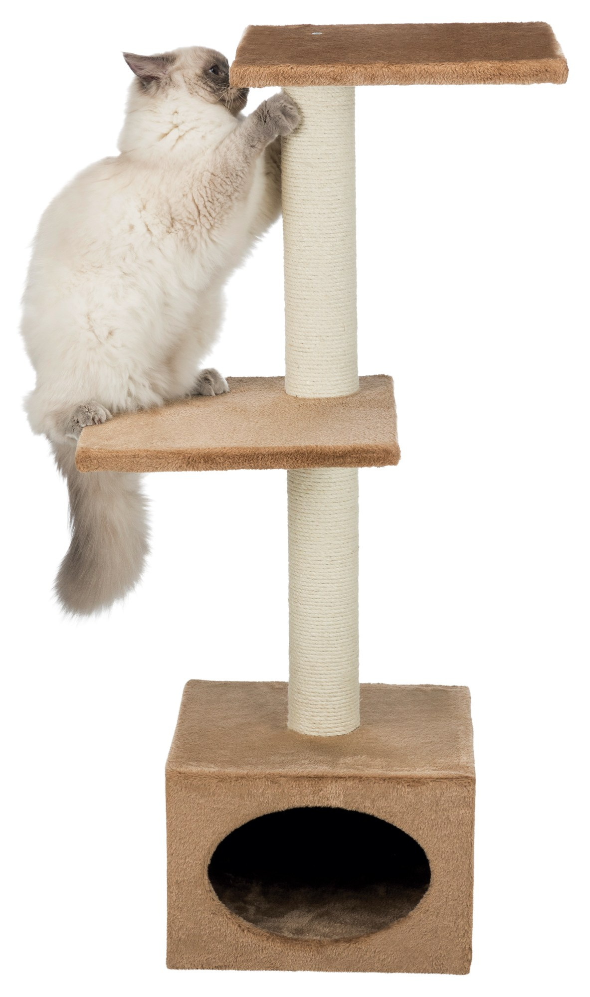 Badalona Scratching Post - Light Brown