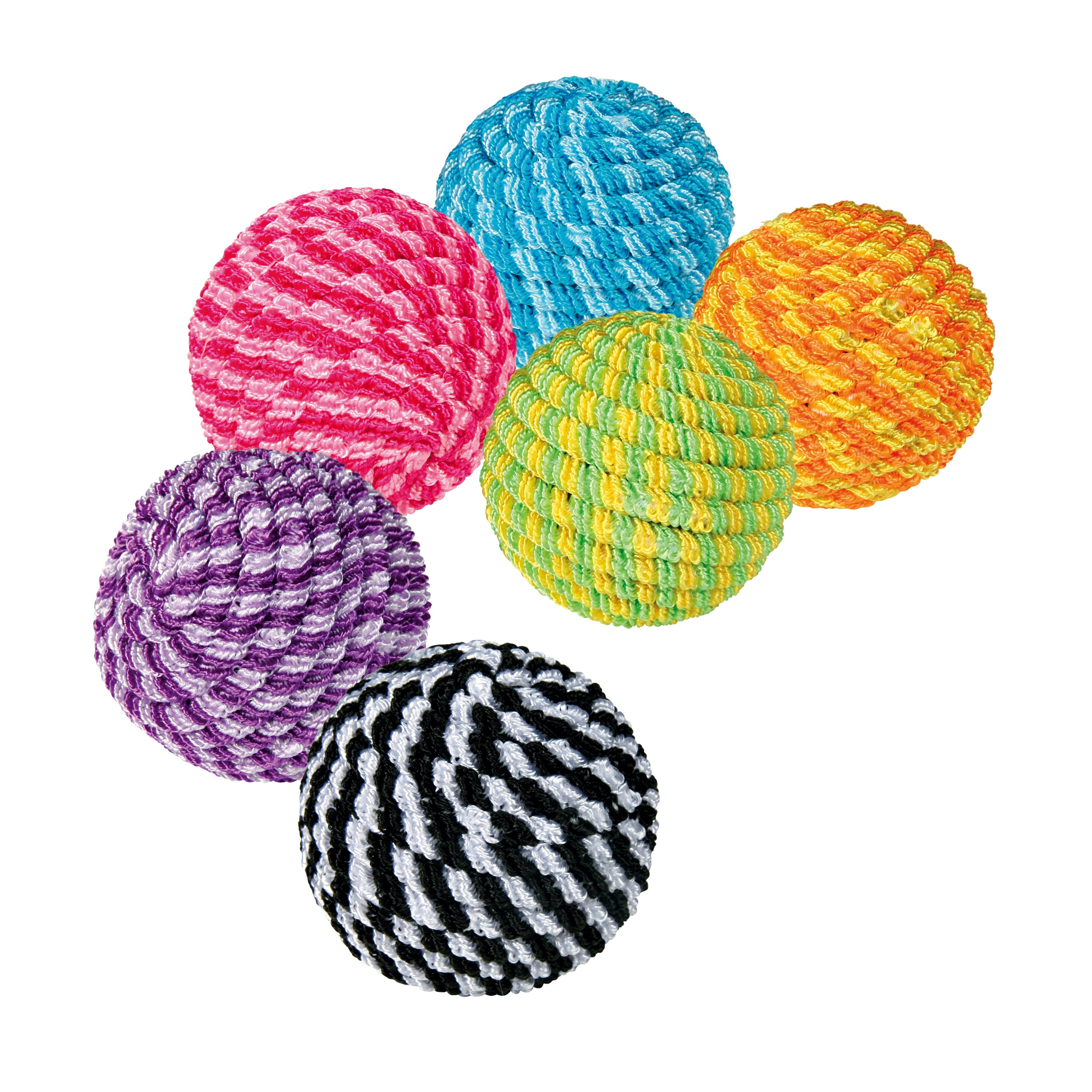 Assortment Spiral Balls 4,5cm - x54