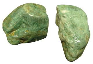 Green African Maxi Stone - 10cm