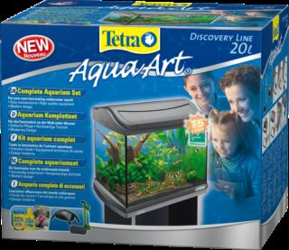 AquaArt Discovery Line Shrimp Aquarium 20L